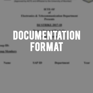 Documentation format